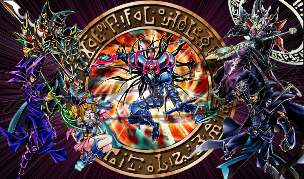 Dark Magician Wallpaper - WallpaperSafari  Dark Magician W...