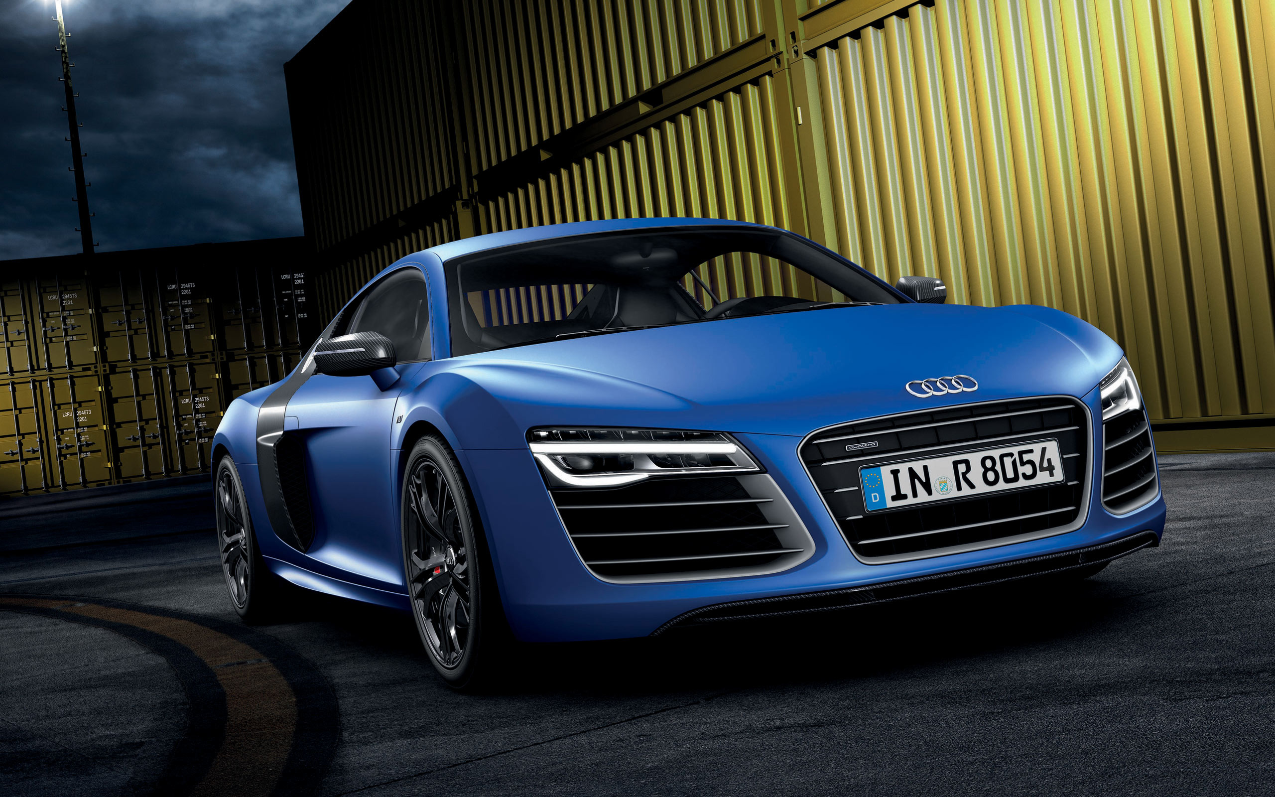 2013 Audi R8 V10 Plus Wallpaper HD Car Wallpapers 2560x1600
