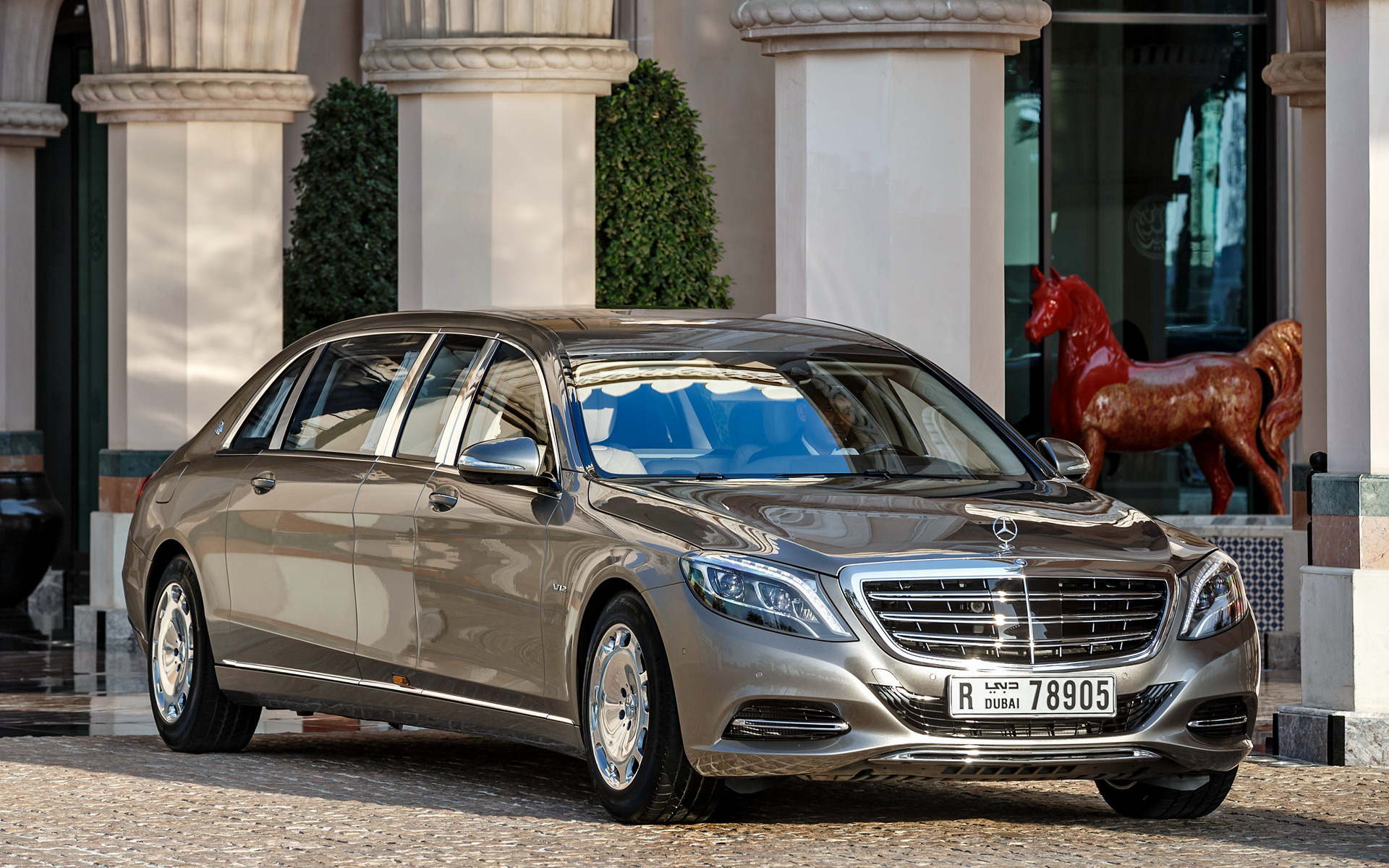 2016 Mercedes Maybach S Class Pullman   Wallpapers and HD Images 1920x1200