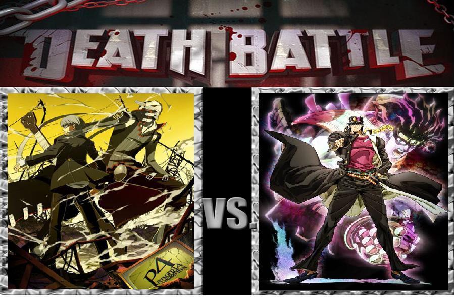 Death Battle Yu Narukami vs Jotaro Kujo by MadnessAbe 899x589