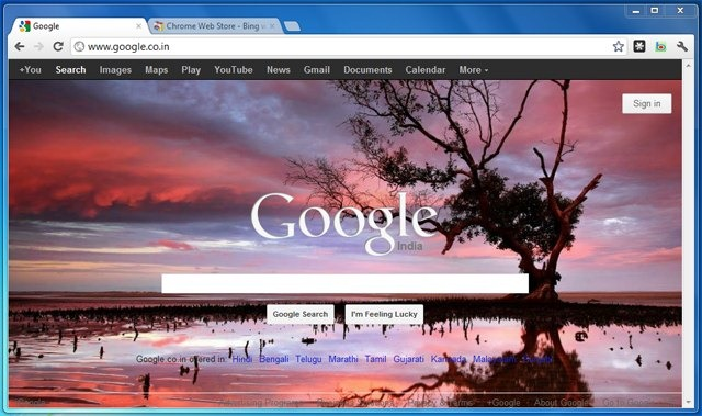 how to set google as my homepage