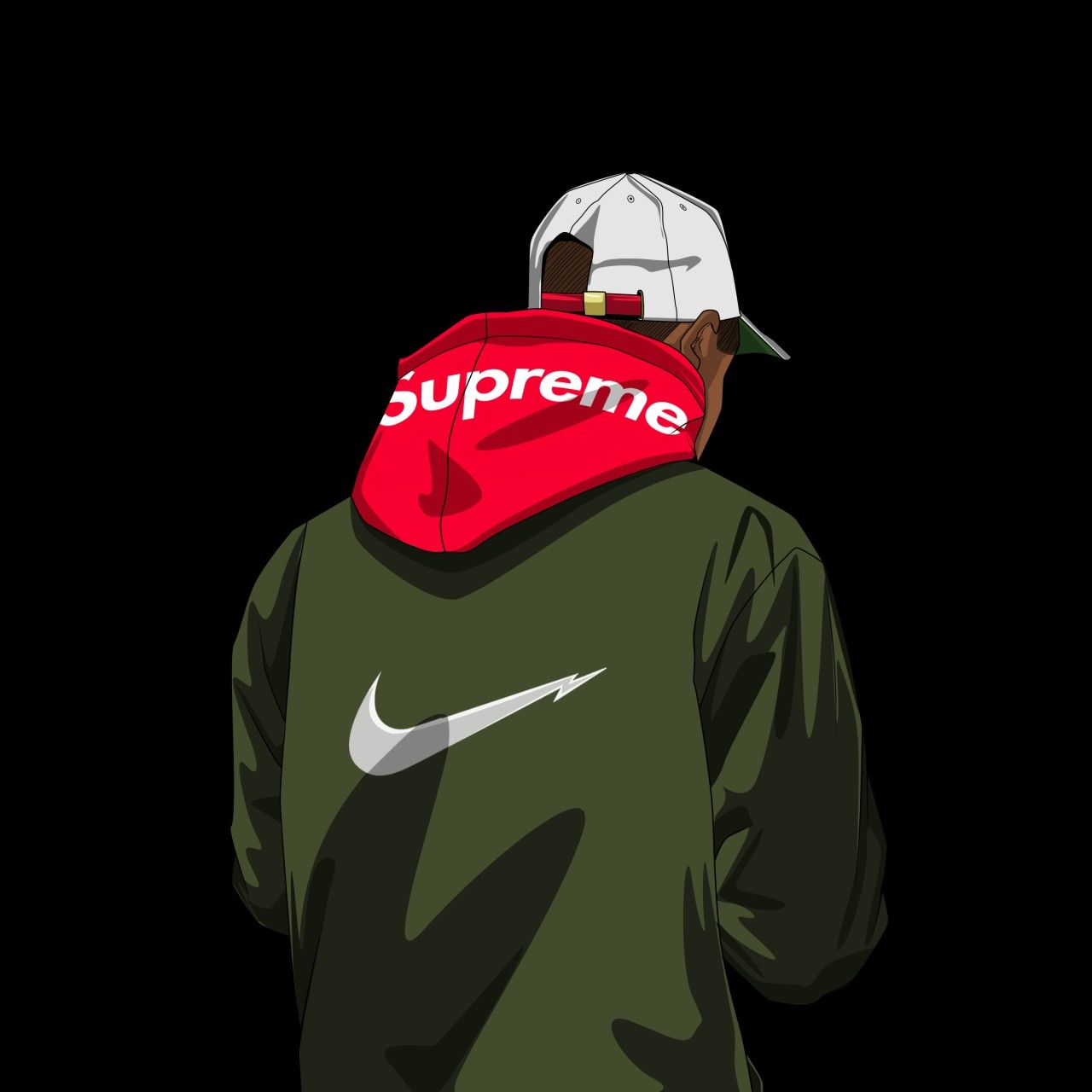 Dope Supreme Wallpapers   Top Dope Supreme Backgrounds 1280x1280