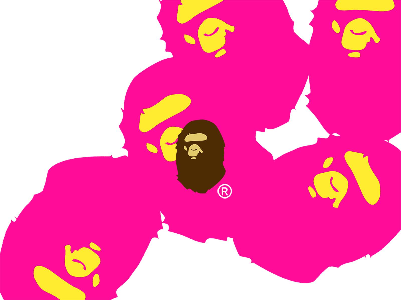 bapes gone pink google wallpapers bapes gone pink google backgrounds