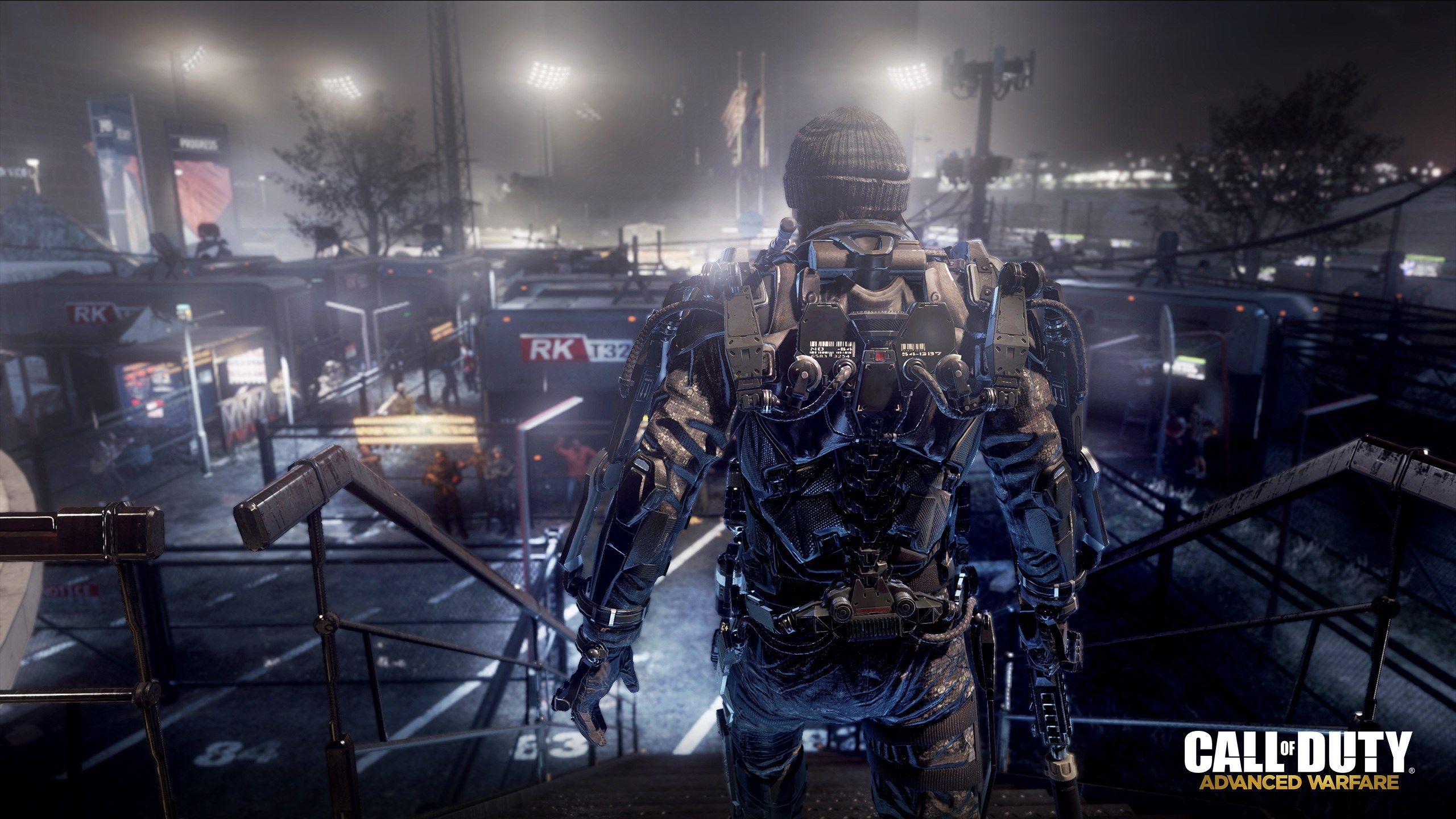 Call Of Duty Advanced Warfare Exoskeleton Zombie   2560x1440 2560x1440