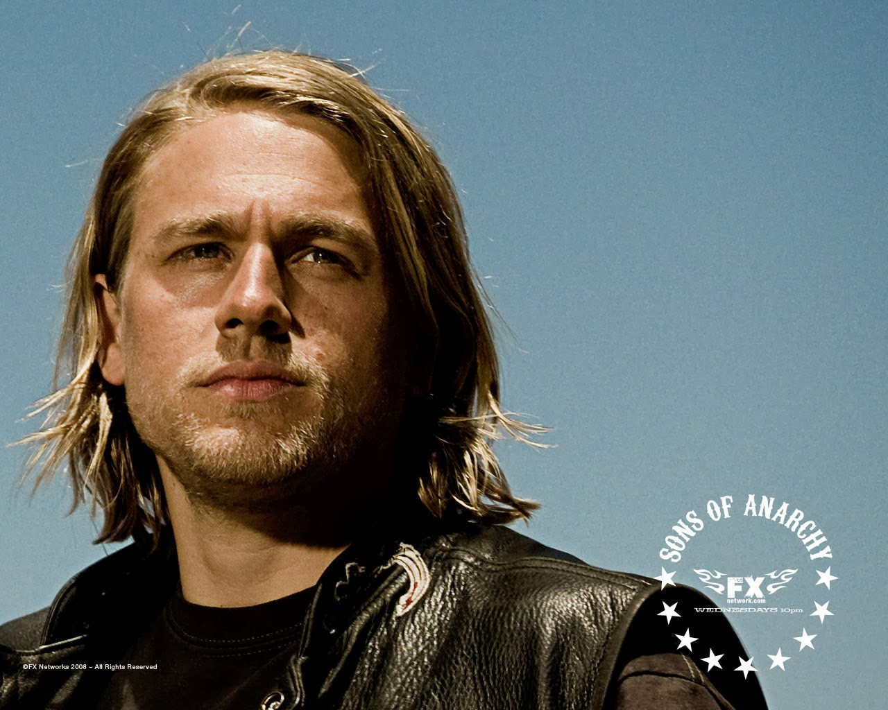 sons of anarchy Charlie Hunnam Wallpaper 1280x1024