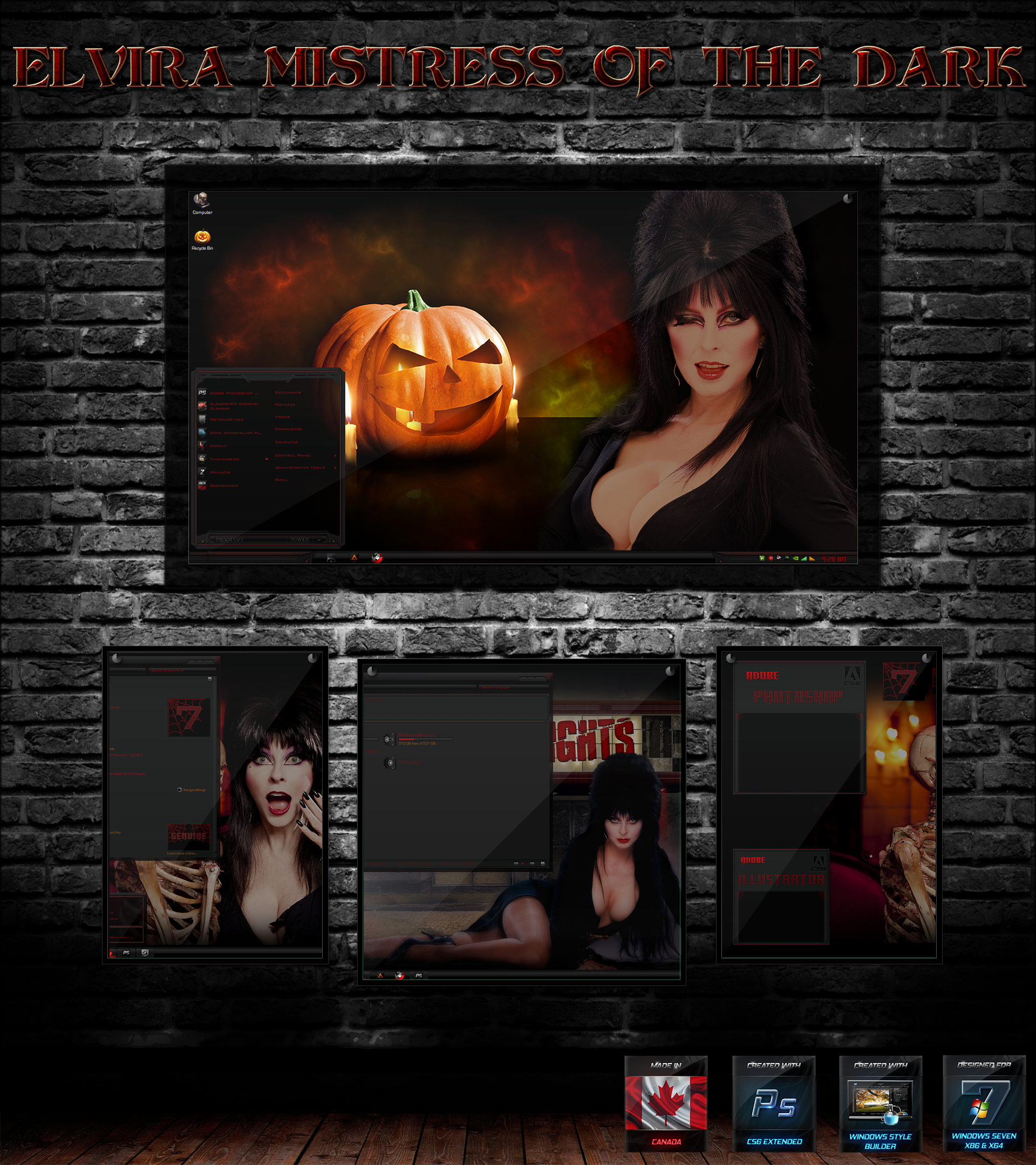 Elvira Mistress of the Dark by R0ck n R0lla1 1920x2160