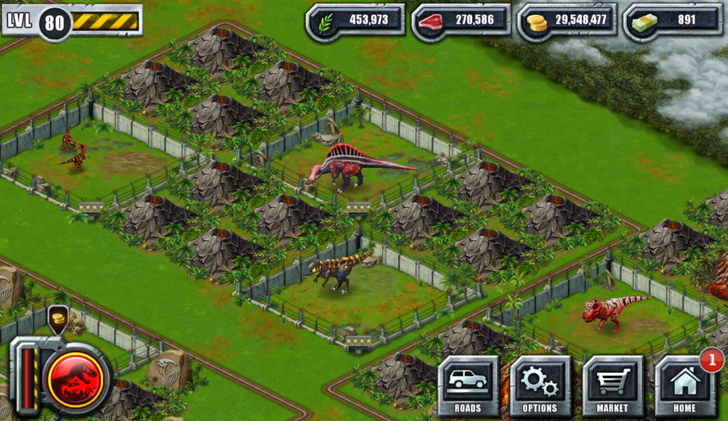 Jurassic Park Builder Part 5 By AmazonianFisherman On