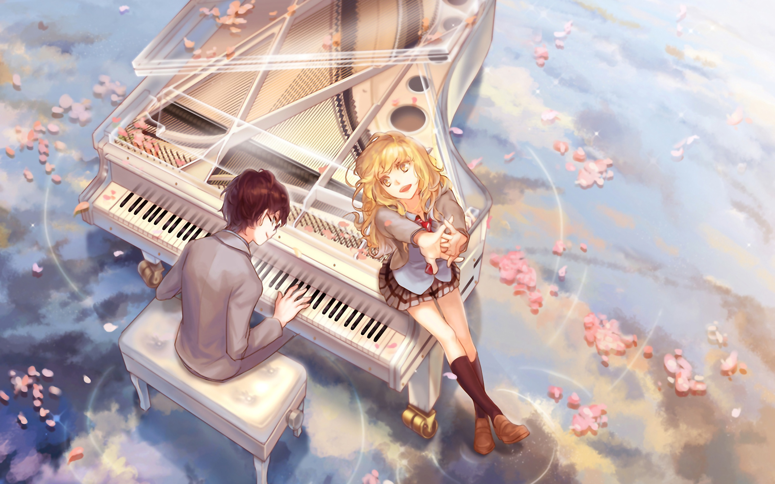 your lie in april images Your Lie in April HD wallpaper and 2560x1600