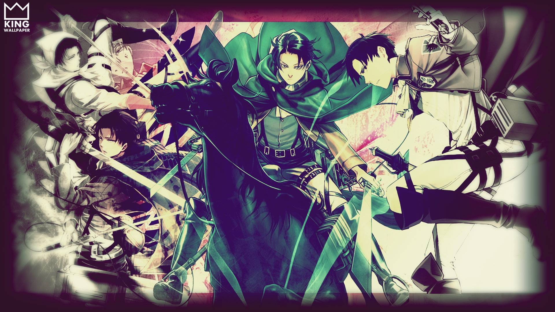 Levi Wallpaper   Shingeki no Kyojin by Kingwallpaper 1920x1080