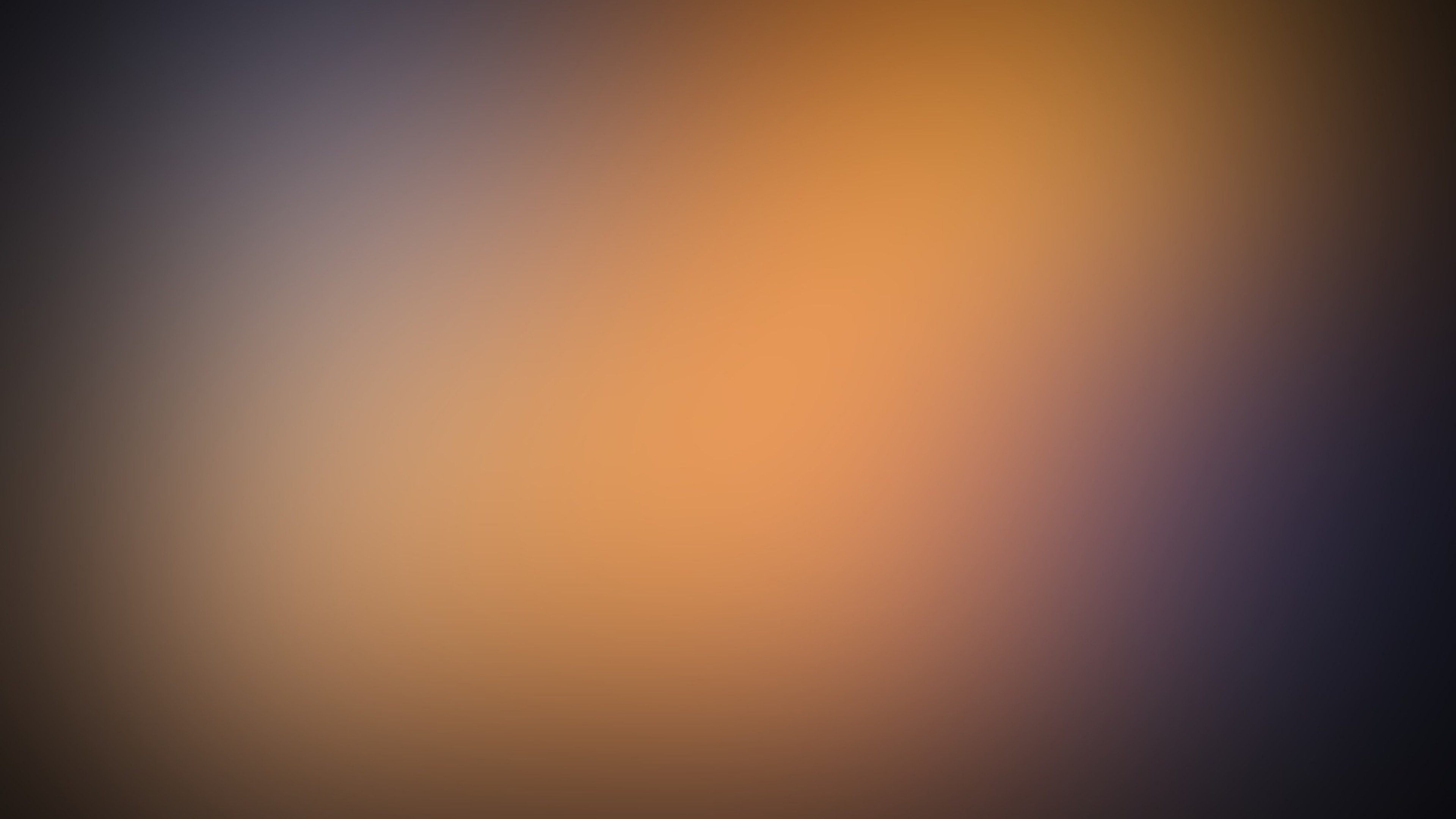 Gaussian Orange Minimalism Depth Wallpaper Background 4K Ultra HD 3840x2160