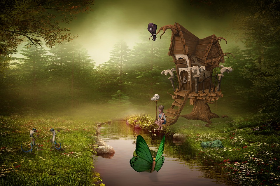 illustration Fairy Tale World Fairytale Child 960x637