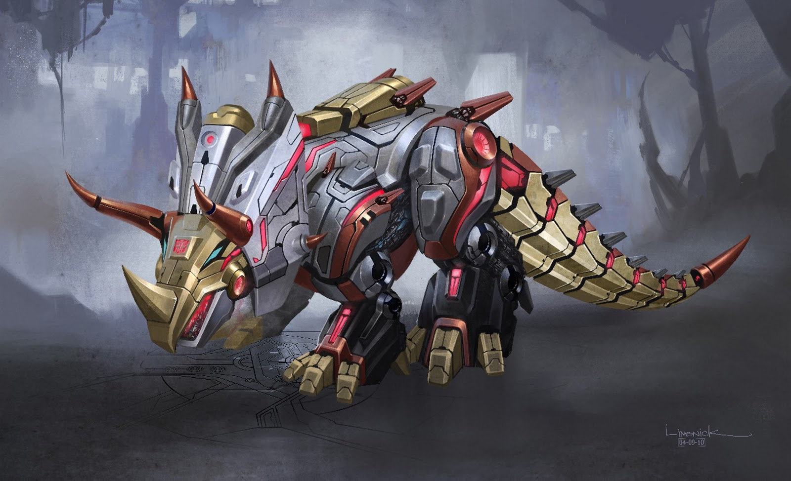 TRANSFORMERS FALL OF CYBERTRON OFFICIAL CONCEPT ART POSTERS 1600x974