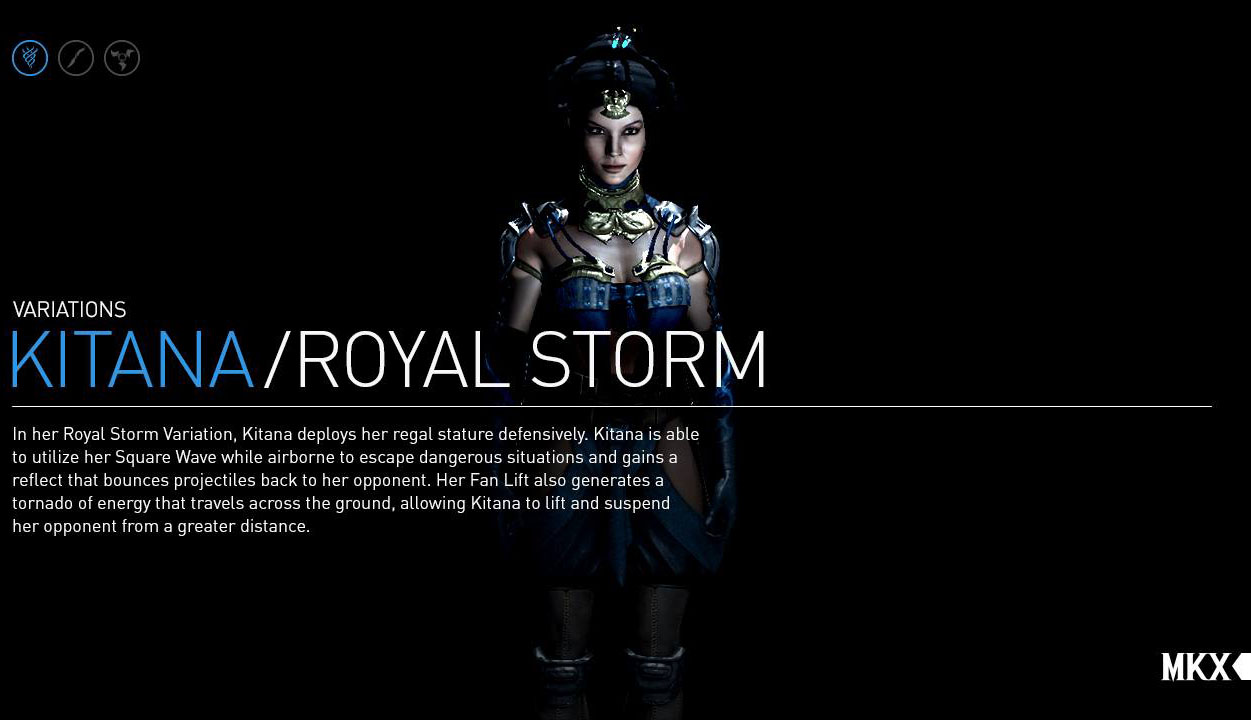 storm variation kitana deploys her regal statue defensively kitana 1251x720