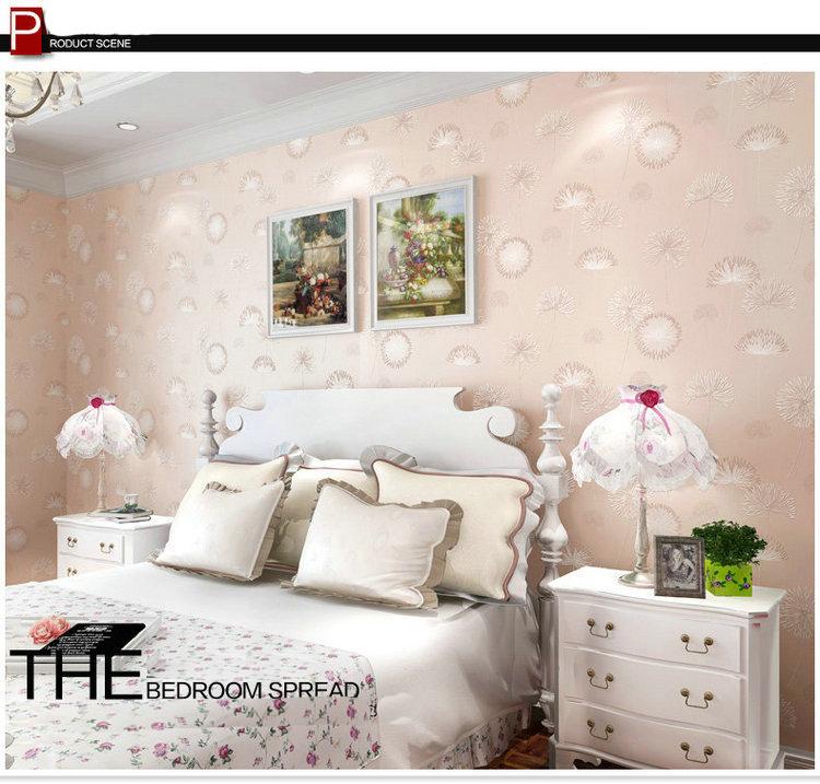 dandelion wallpaper TV backdrop wallpaper manufacturers wholesalejpg 750x717