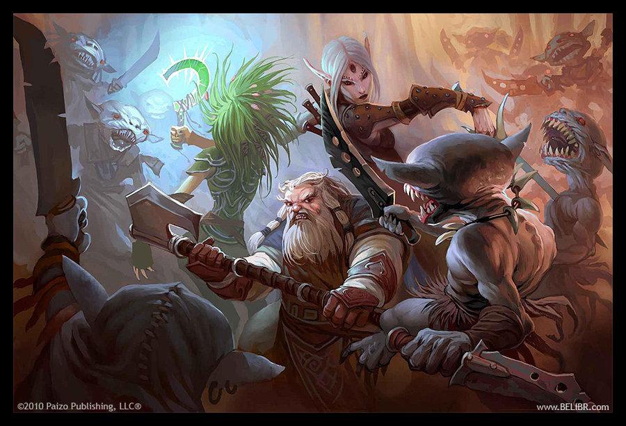 Goblin ambush by Belibr 900x613