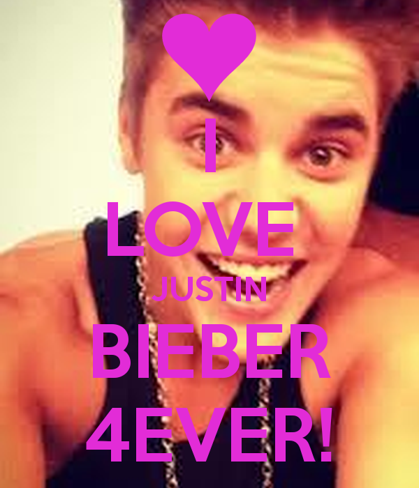 I Love Justin Bieber Wallpaper - WallpaperSafari
