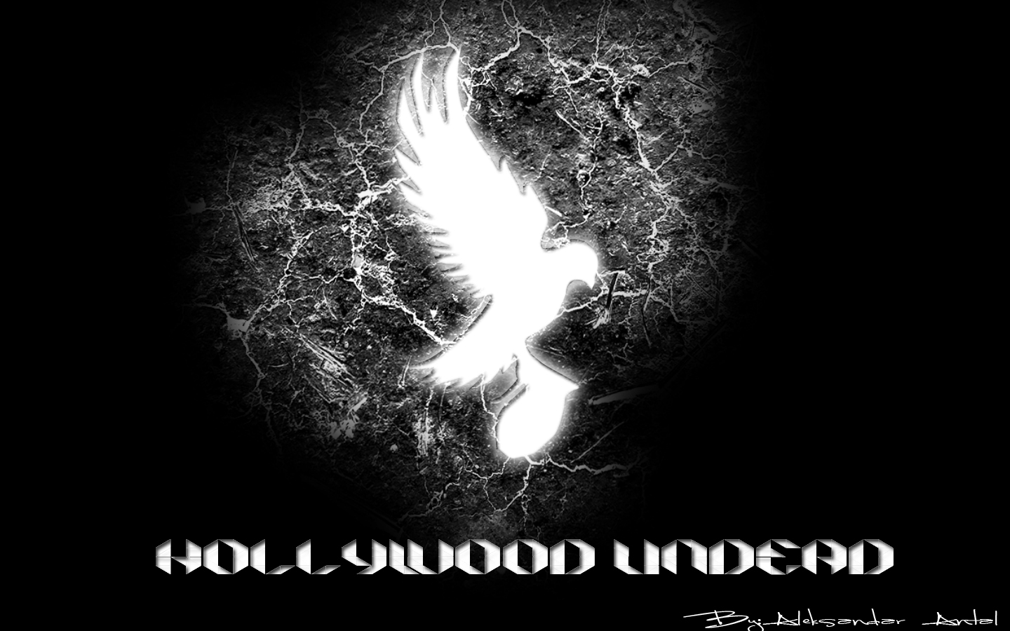 Hollywood Undead Logo Font Hollywood undead 1440x900