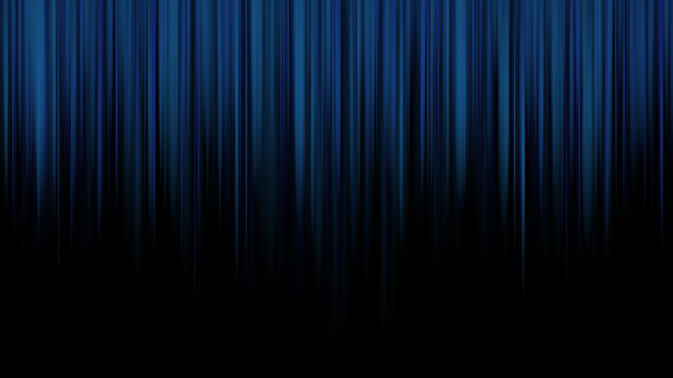 black wallpapers stripes blue wallpaper desktop 2560x1440 2560x1440