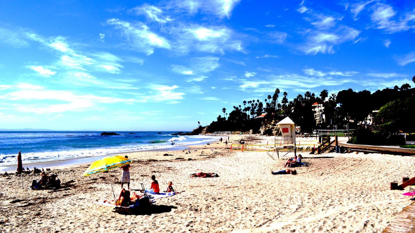 california 3d beach beaches 3d beaches usa best beaches top 1366x768