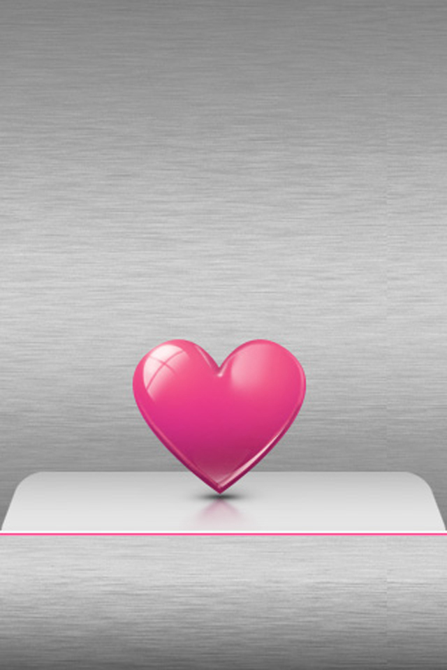 Free Download Pink Love Lockscreen Iphone 4 Wallpaper Cute