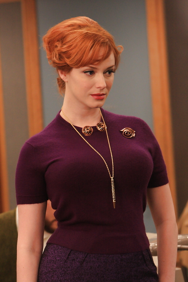 Christina Hendricks Mobile Hd Wallpaper 175 640x960
