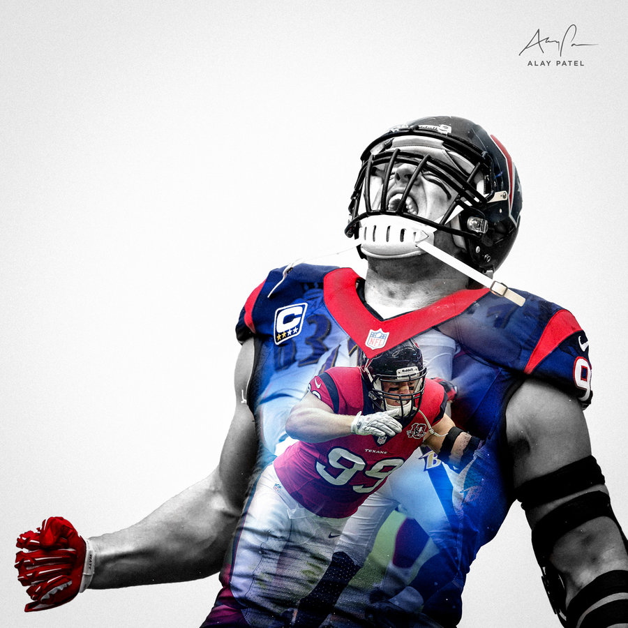 Jj Watt Iphone Wallpaper Attempts To Block A Pictures 900x900
