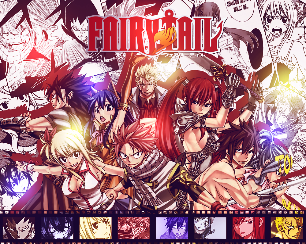 Fairy Tail Wallpaper | Fairy Tail Base