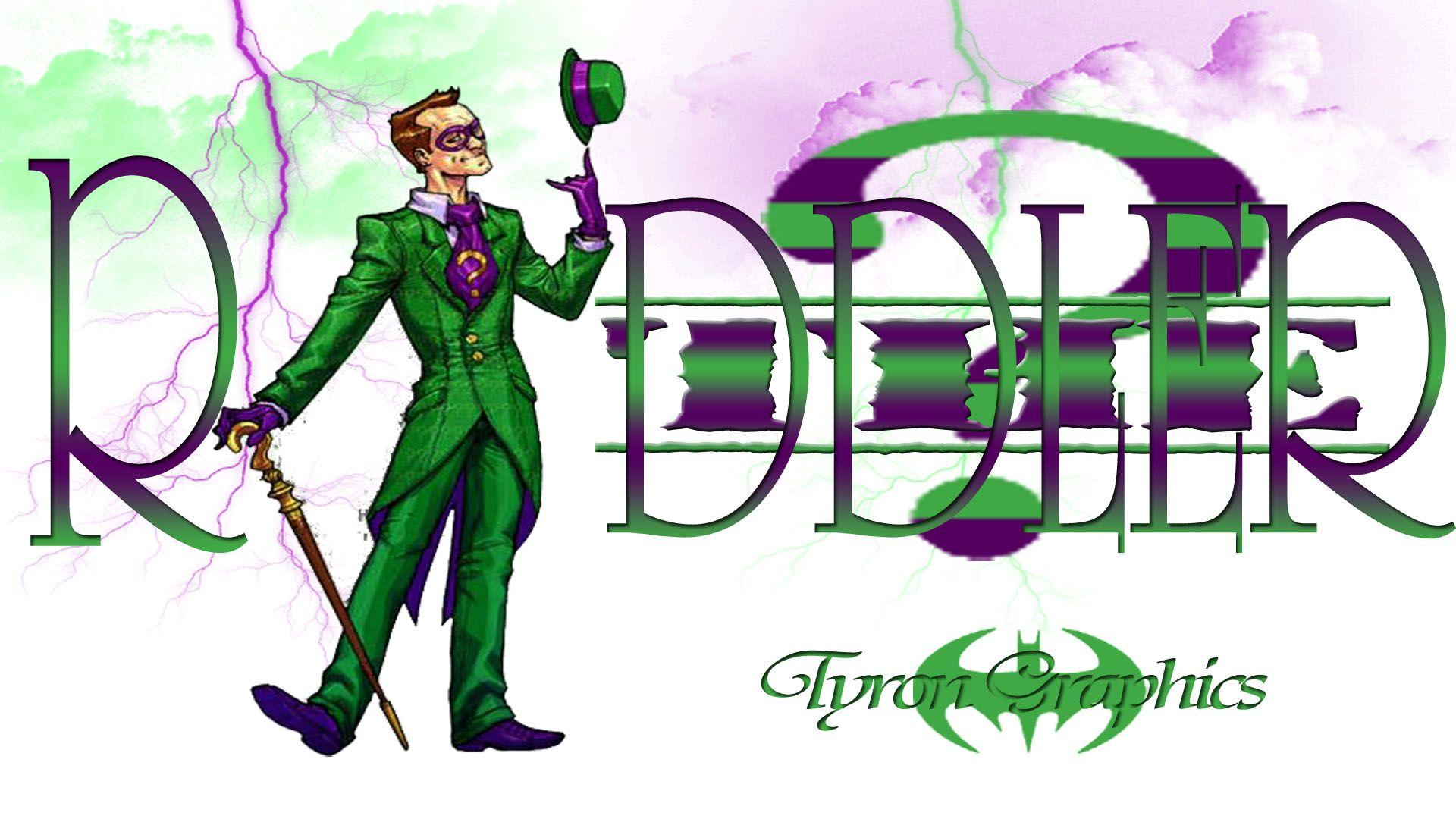 The Riddler Wallpapers 1920x1080