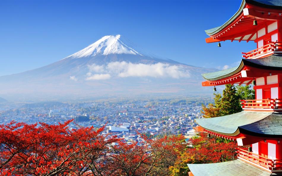 mount fuji japan asain asia fuji japan mount mountain 950x594