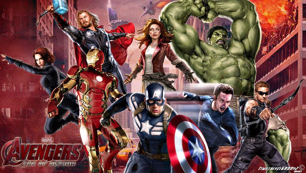 Avengers Age of Ultron Wallpaper Widescreen by Timetravel6000v2 1024x579