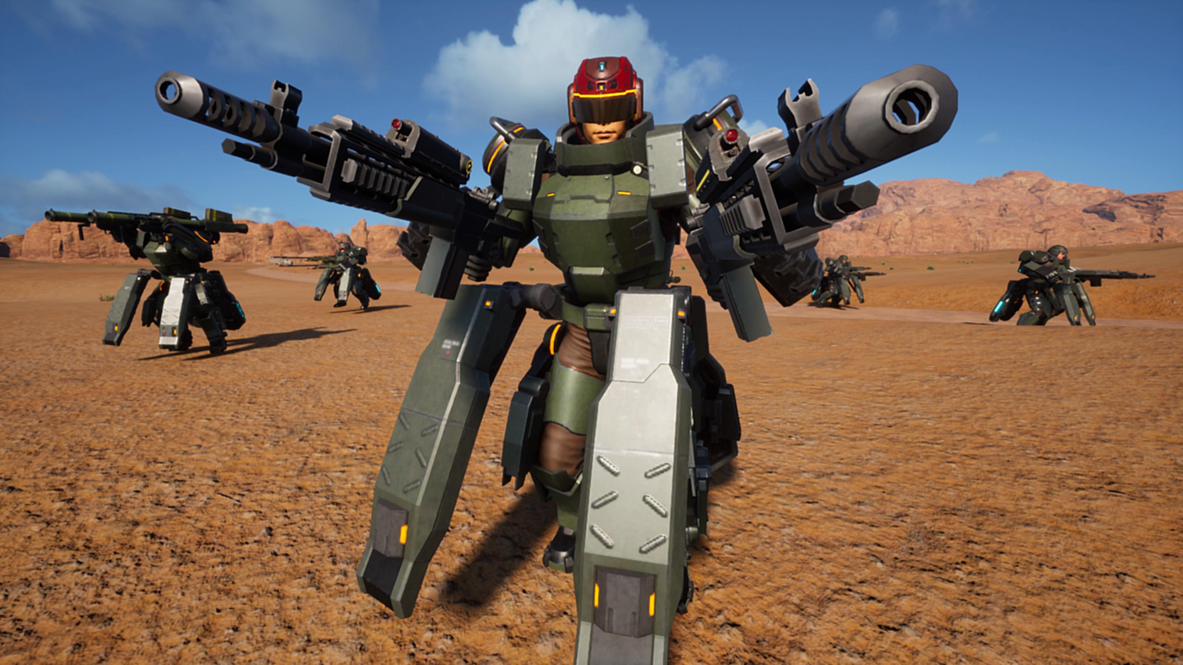 Earth Defense Force Iron Rain lets you destroy big pretty open 3840x2160