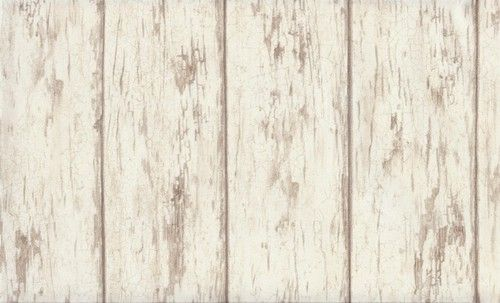 Wallpaper Cream Tan Weathered Country Wood Planks 500x303