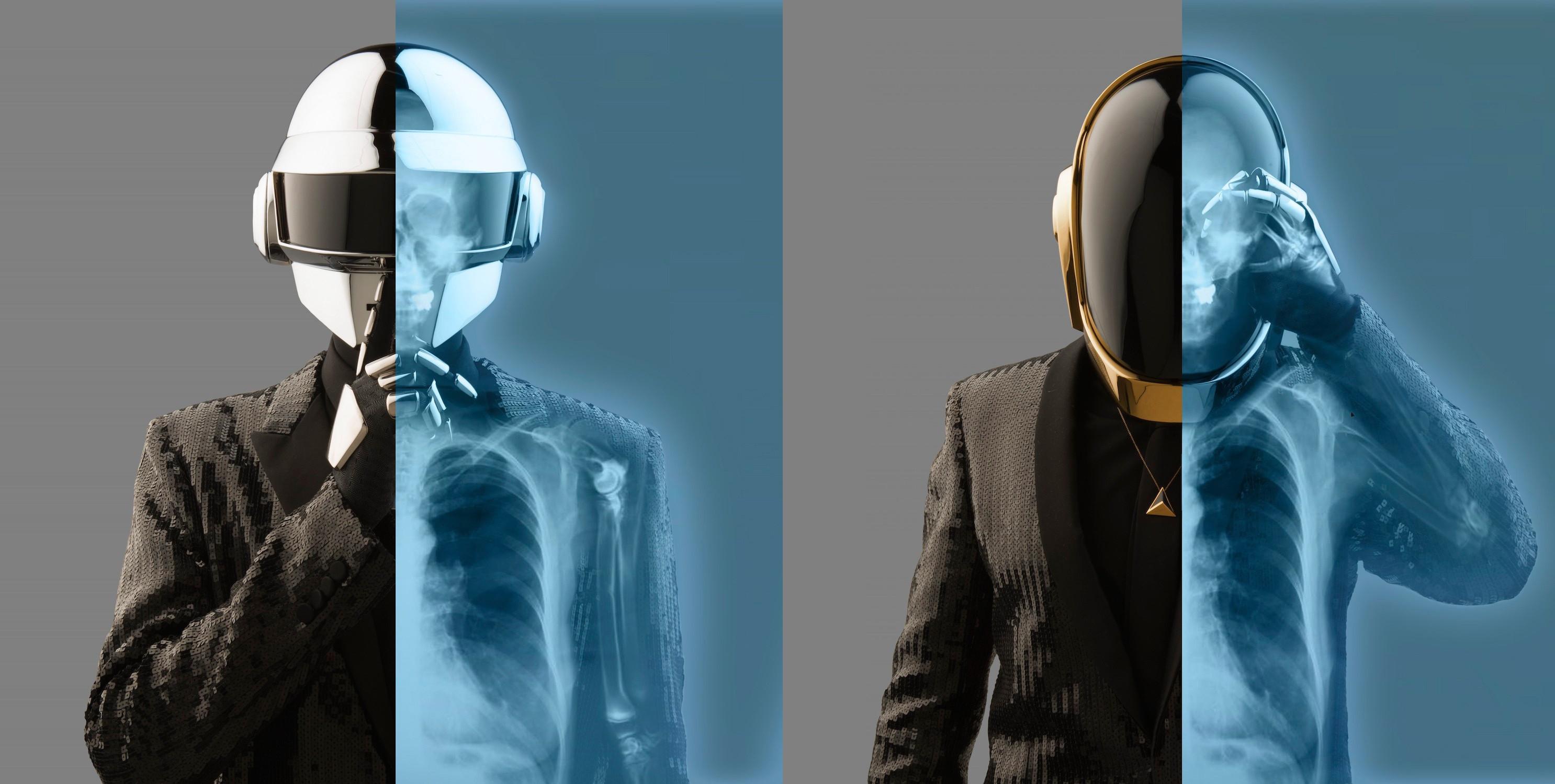Daft Punk skull skulls x ray skeleton wallpaper 2972x1500 117271 2972x1500