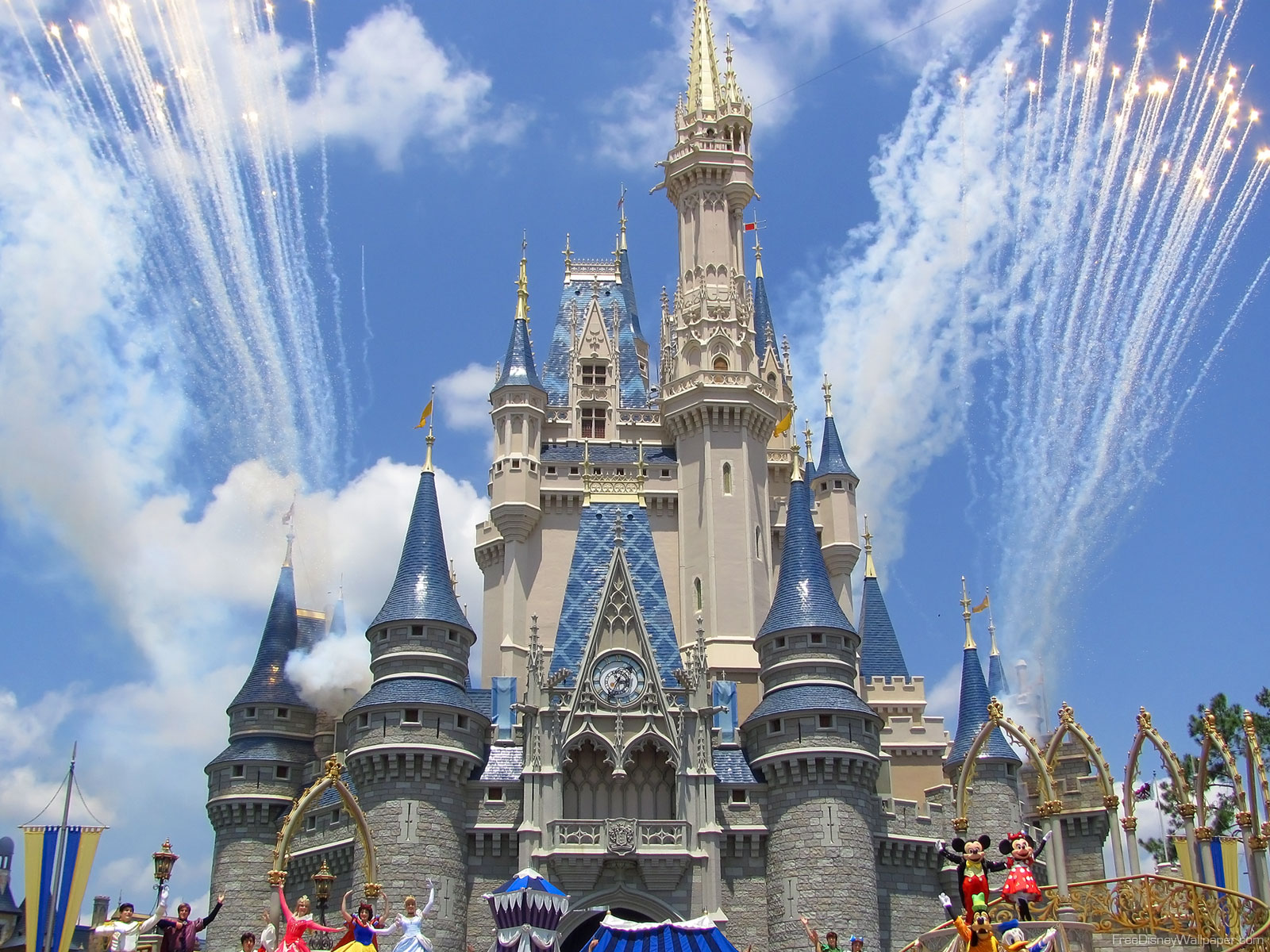 Disney Wallpaper Disney Wallpapers Cinderella Castle 1600x1200