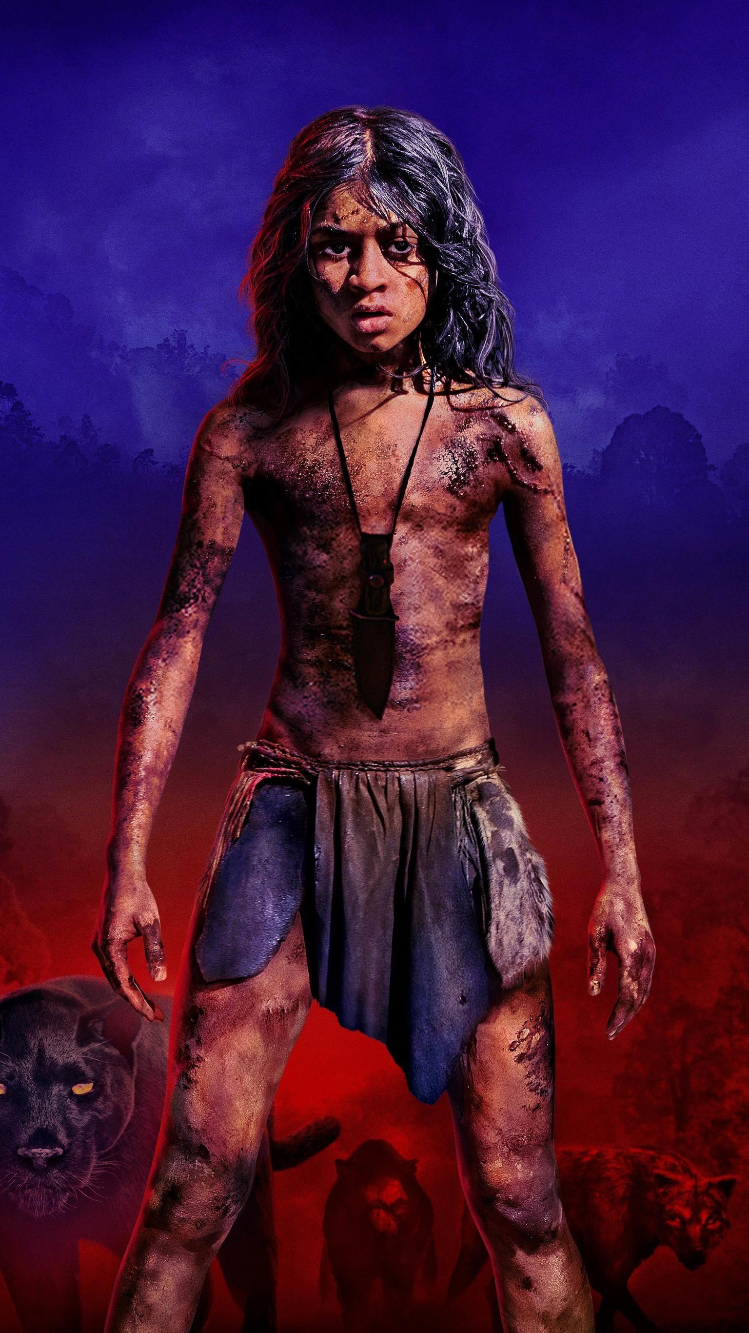 Mowgli Legend of the Jungle 2018 Phone Wallpaper in 2019 1536x2732