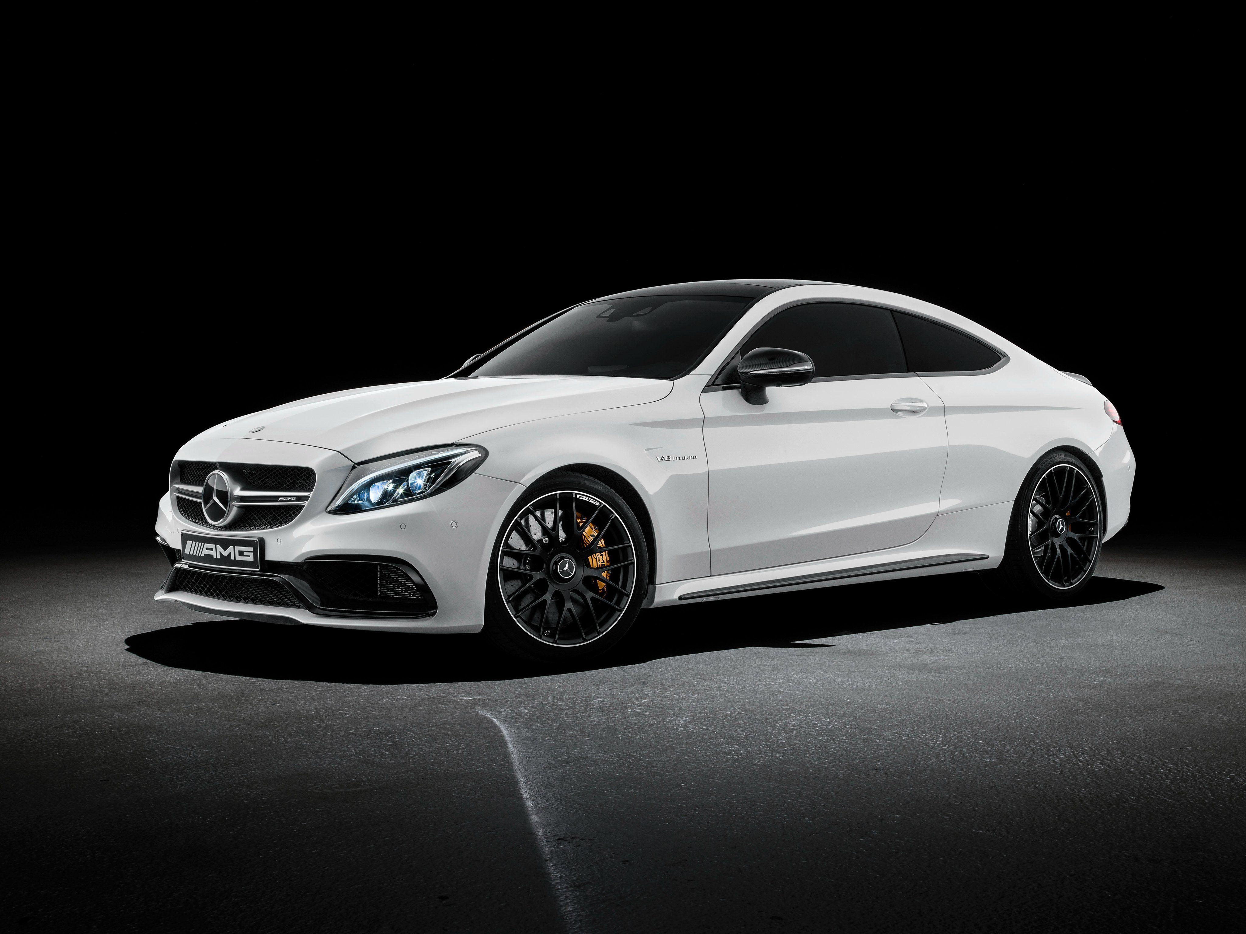 Mercedes AMG C63 S Coupe Wallpapers 4096x3070