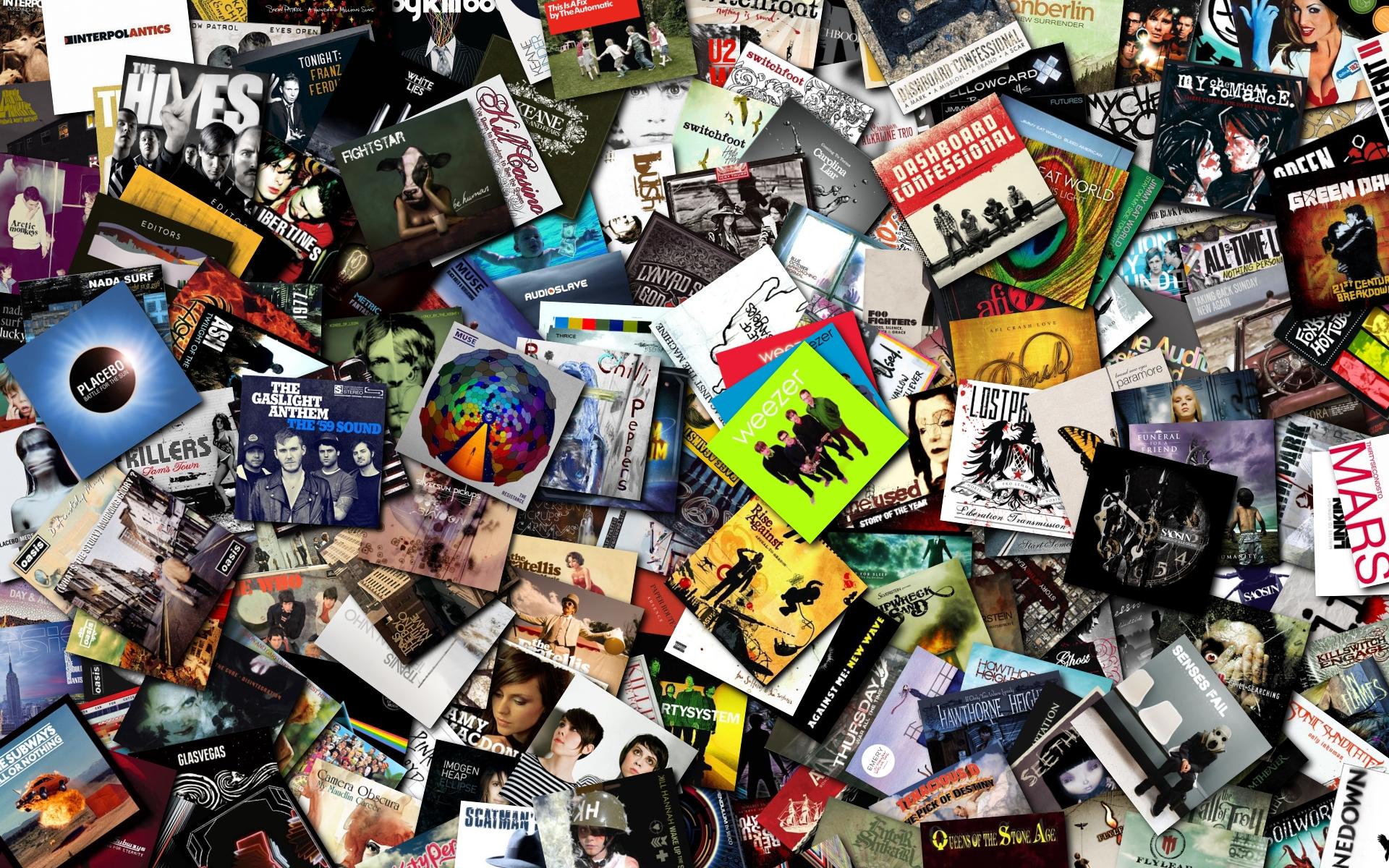 Sfondo album music collection   HD Wallpaper SoloSfondicom 1920x1200