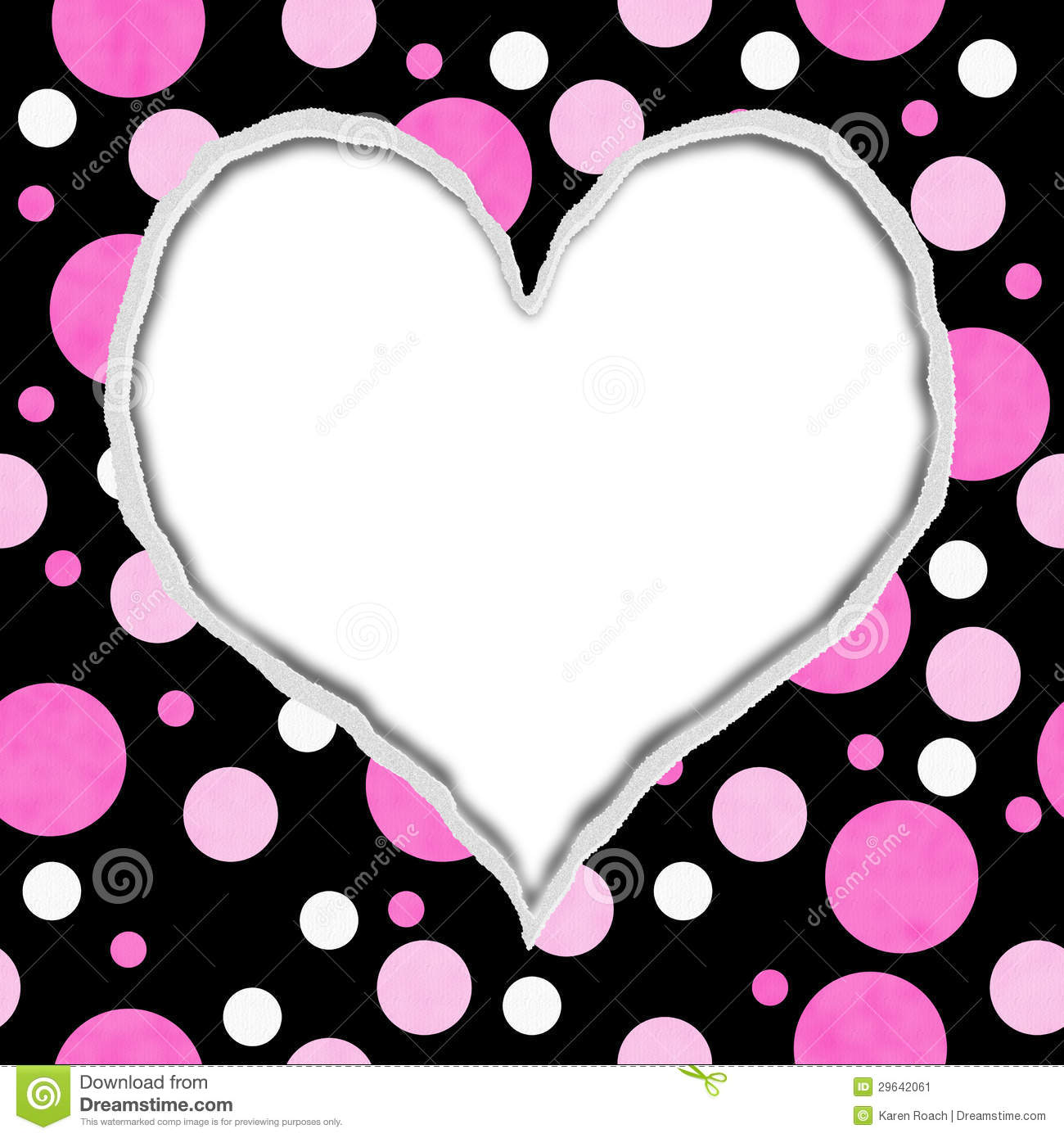 Free Download Pink Heart And Fabric Black 1300x1390 For Your