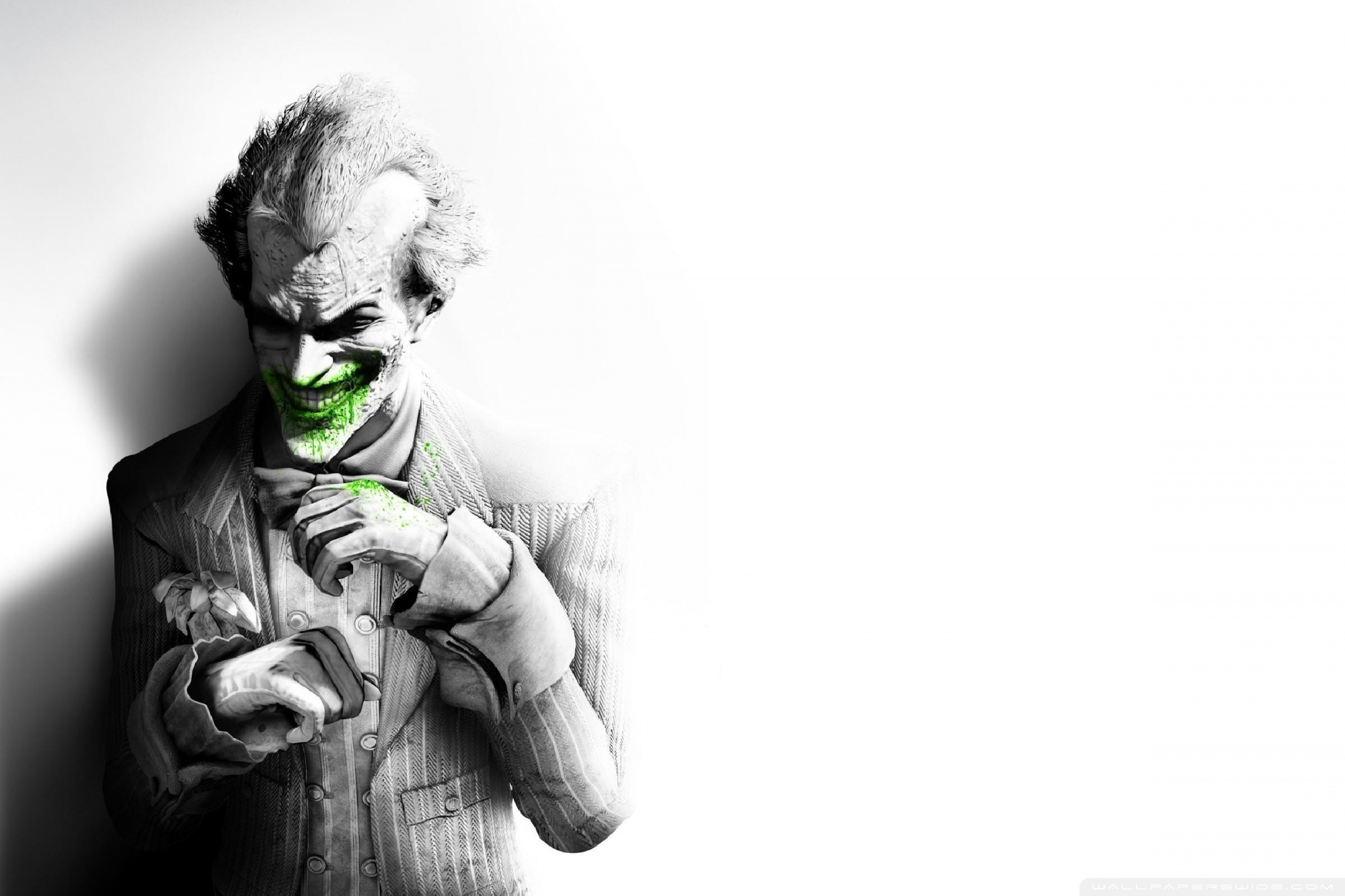 The Joker Arkham City 4K HD Desktop Wallpaper for 4K Ultra HD 2000x1333