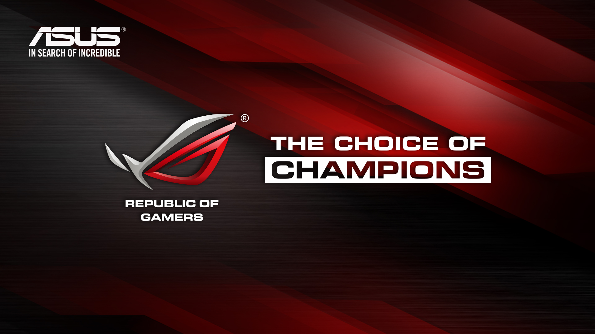 ROG Official Wallpaper 2013   Republic of Gamers   Republic of Gamers 1920x1080