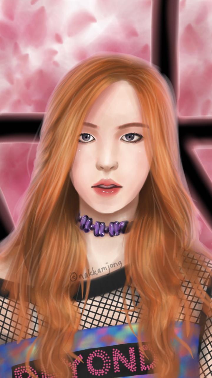 [BLACKPINK] BOOMBAYAH   Rose by nakkamjong 720x1280