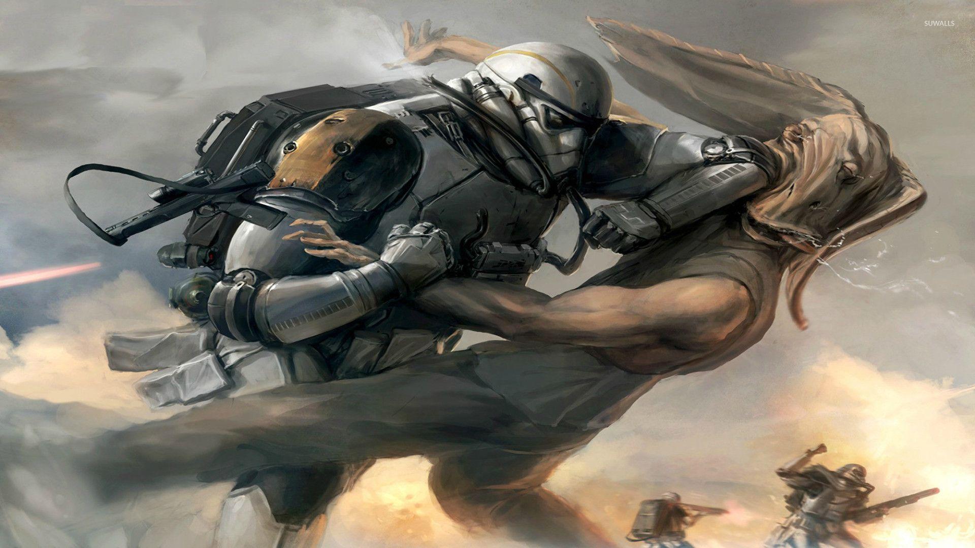 Star Wars battle wallpaper   1211013 1920x1080