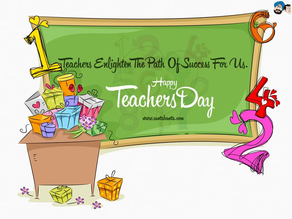 Teachers Enlighten The Path Of Success For Us Happy Teachers Day 1024x768