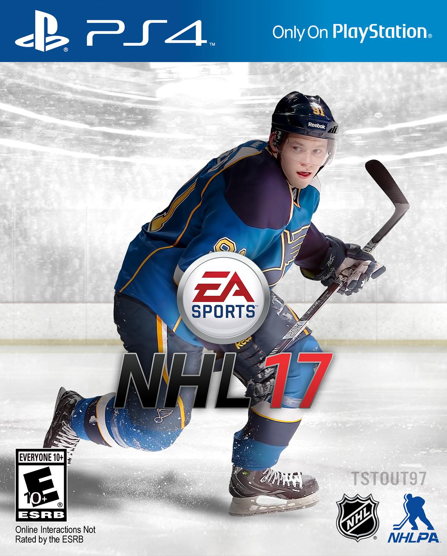 Vladimir Tarasenko NHL 17 Concept on Behance 1200x1495