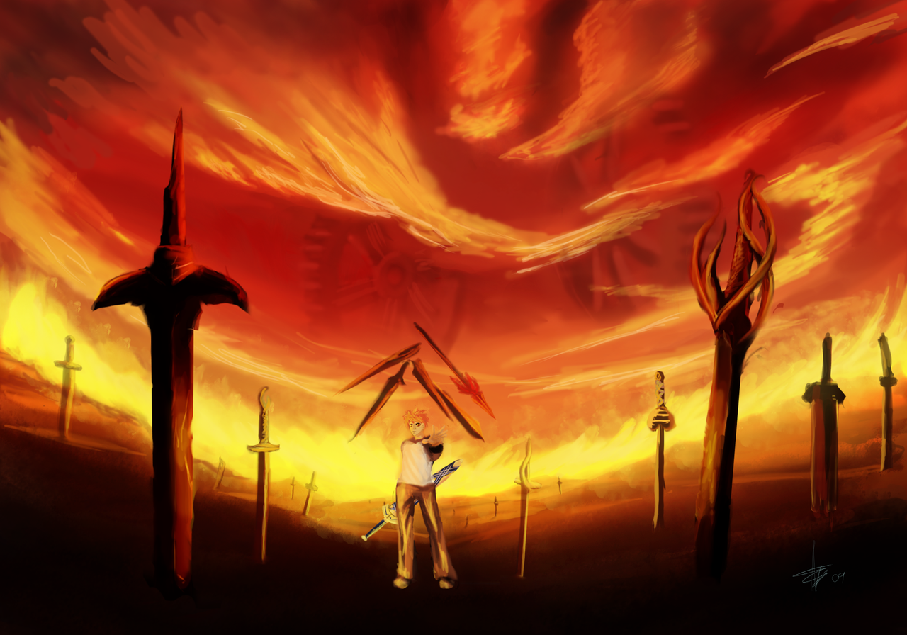 Pin Unlimited Blade Works Movie Wallpaper 1280x896