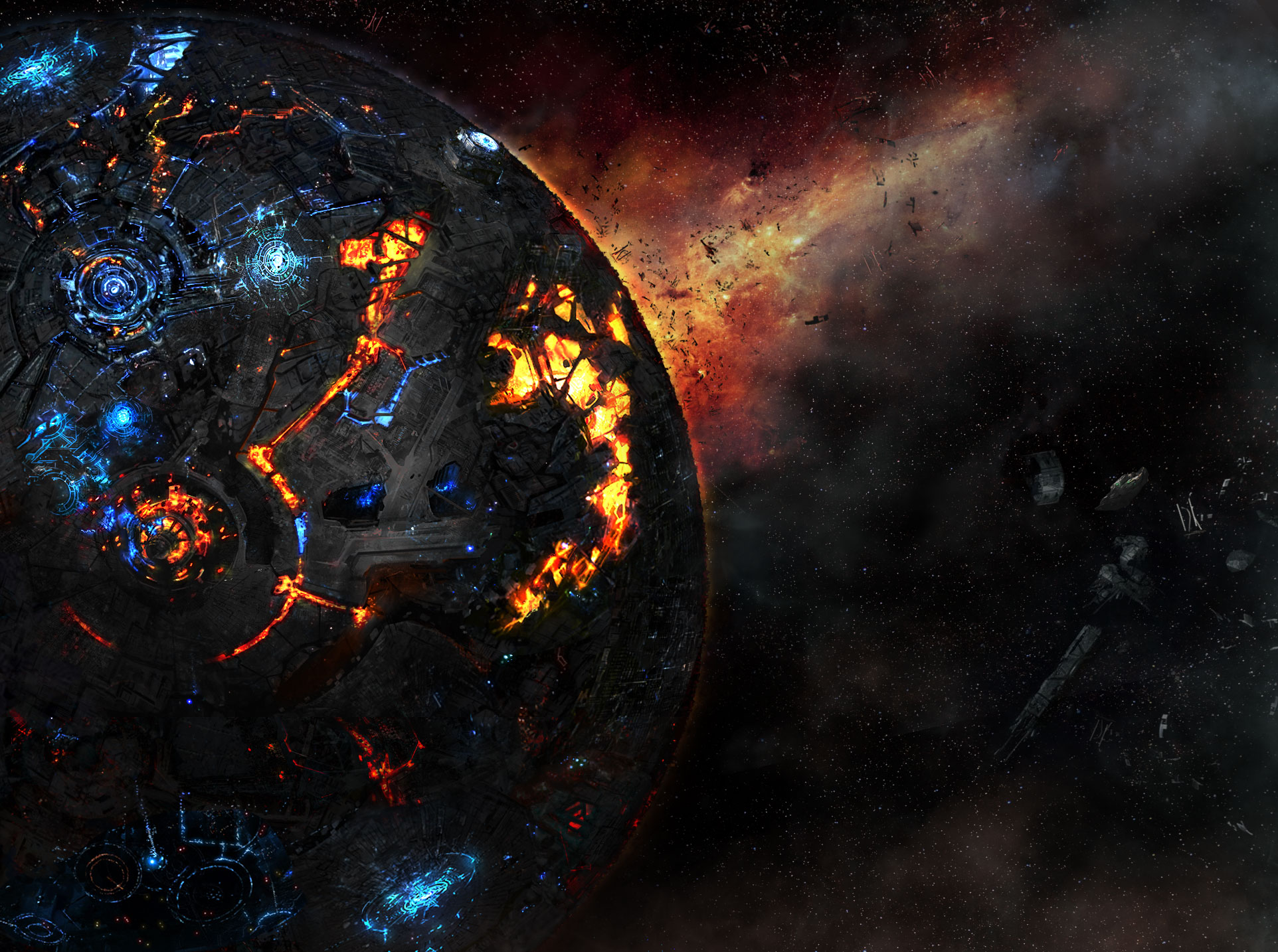 Transformers Fall of Cybertron Planet Wallpapers 1924x1434 pixel 1924x1434