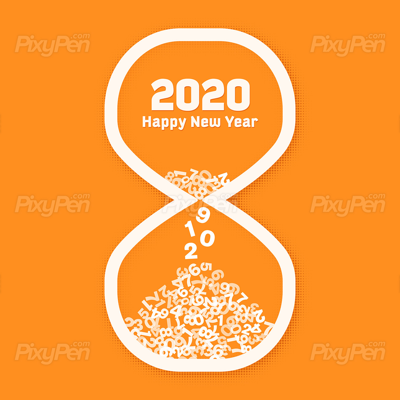 download Happy New Year 2020 JPEG Images Wallpapers 1300x1300