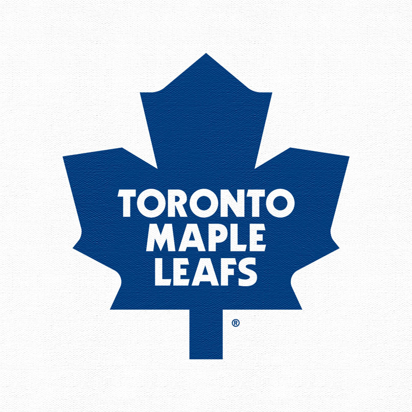 Toronto Maple Leafs Logo White Toronto maple leafs 2010 logo 806x806