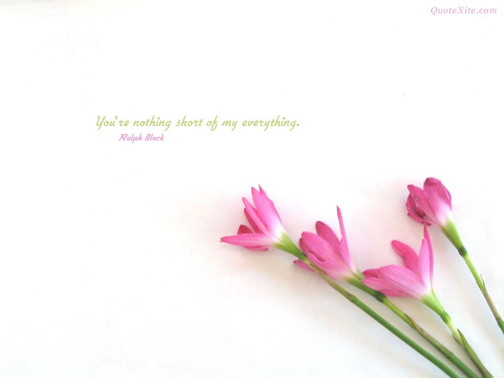 Beautiful flowers wallpapers with quotes izmirmasajfo