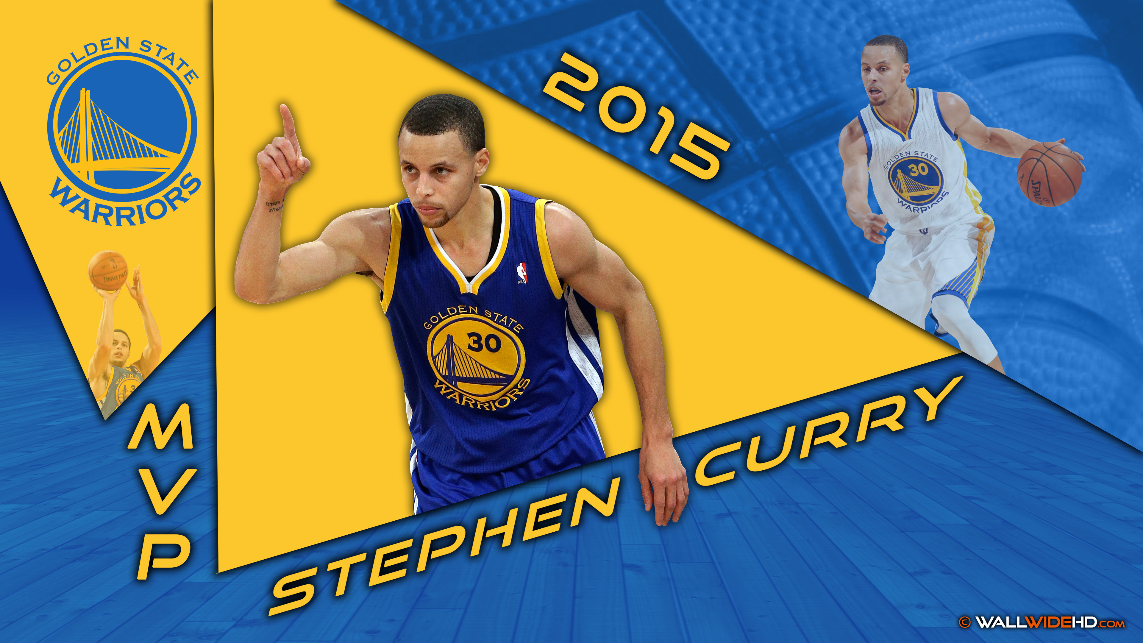 Stephen Curry NBA 2014 2015 MVP Golden State Warriors Most Valuable 3840x2160
